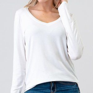Bundle 4 for $25  Long Sleeve Modal Top